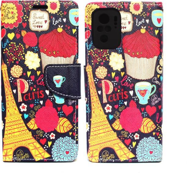Fashion Flip Cover for Redmi Note 10S