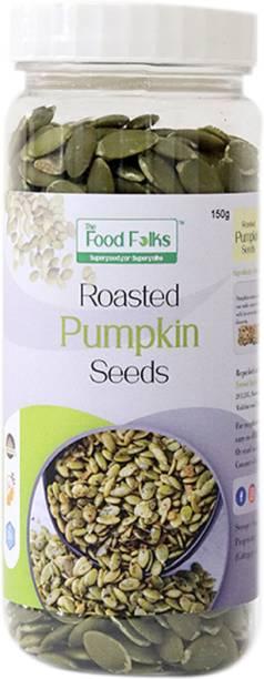 The Food Folks The Food Folks Roasted Pumpkin Seeds Tall Jar (150g)