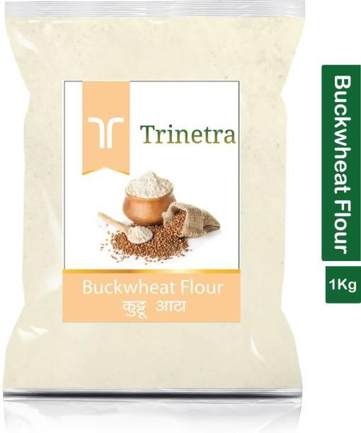 Trinetra Best Quality Buckwheat Flour / Kuttu Atta 1Kg