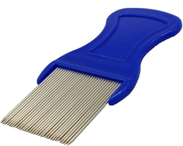 Vreeny Metal Teeth Lice Comb, for Head Lice Remover Lice Egg Removal Comb