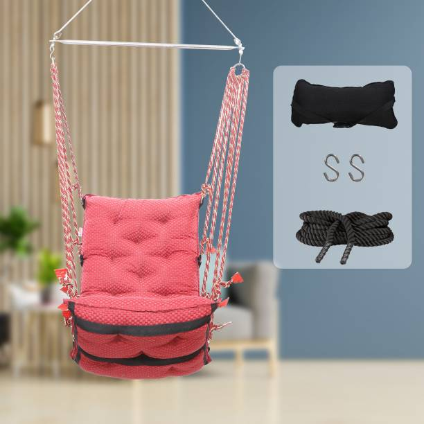 Smart Beans Swing for Balcony , Jhula For Adults Cotton Large Swing