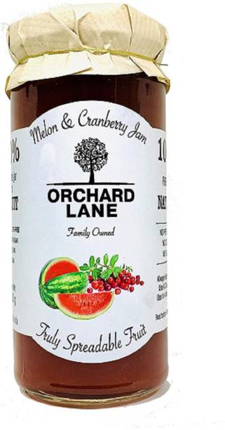 Orchard Lane 80% Fruit- Melon Cranberry Jam- Low-Sugar - No Preservatives- 280 gm 280 g