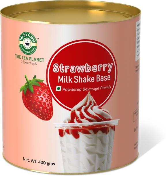 The Tea Planet Strawberry Milk Shake Mix(400)
