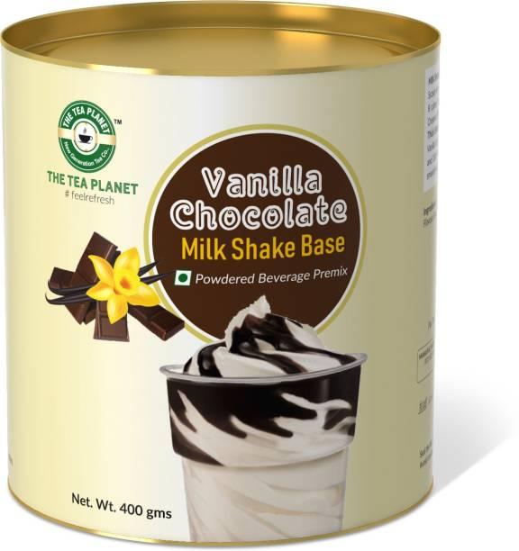 The Tea Planet Vanilla Chocolate Milk Shake Base (400gm)