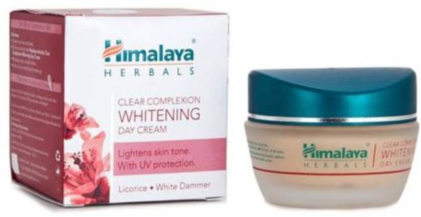 HIMALAYA CLEAR COMPLEXION WHITENING DAY CREAM ( LIGHTENS SKIN TONE WITH UV PROTECTION)