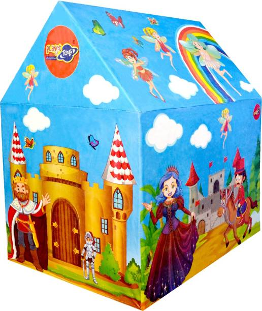 Planet of Toys present Princess Theme Play Tent House for Kids.