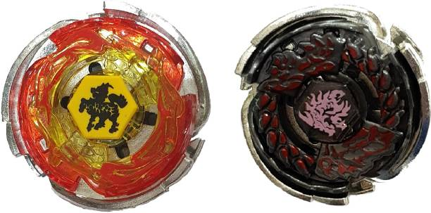 AS Beyblade Metal Masters Fury Big Bang Cosmic Pegasus and L Drago Destruction Spinning and Battling Top (2 in 1 Pack Combo)