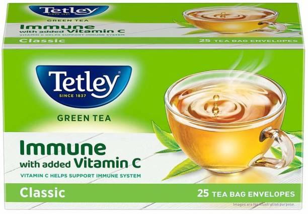 tetley Green Tea Classic Green Tea Bags Box