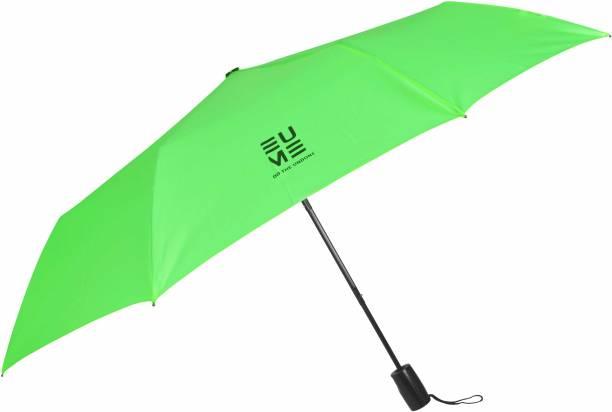 EUME Carroll 23.5 Inch 3 Fold Auto Open Small Umbrella Umbrella