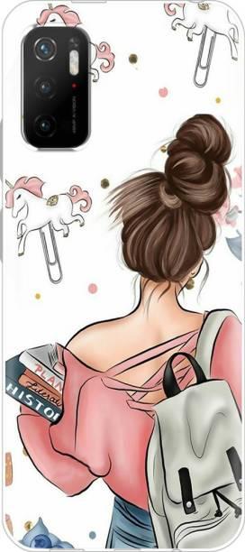 Fashionury Back Cover for Mi Redmi Note 10T, Poco M3 Pro 5G