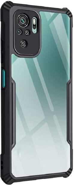 Casotec Back Cover for Mi Redmi Note 10, Mi Redmi Note 10S, Air Cushion Case