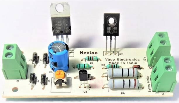 VASP Electronics 6 Volt LED Emergency Light PCB Kit Educational Electronic Hobby Kit
