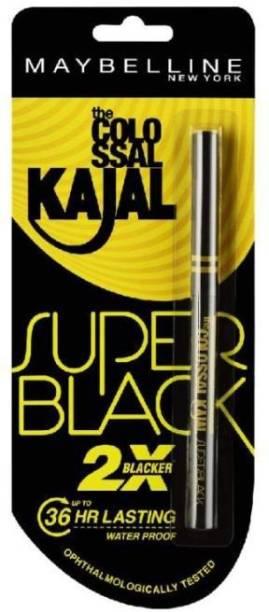 MAYBELLINE NEW YORK SUPER BLACK KAJAL 36HR 0.35G SET OF 1 0.35 g