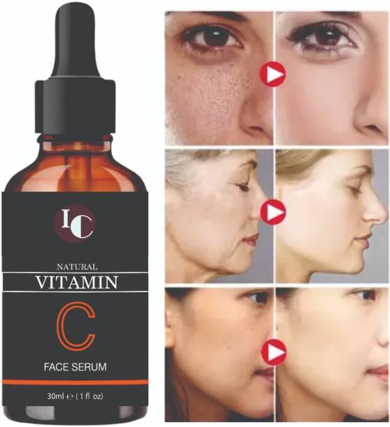 INDO CHALLENGE Vitamin C Face Serum - Skin Brightening Serum , Anti-Aging, Skin Repair, Supercharged Face Serum, Dark Circle, Fine Line & Sun Damage Corrector Face Serum