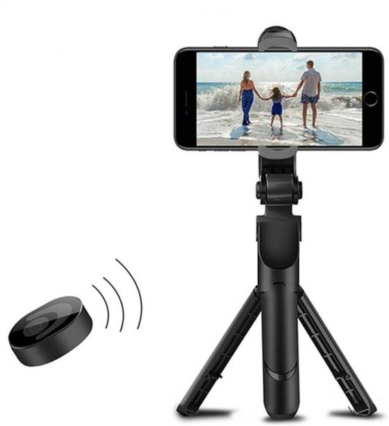 LUKECAGE XT-02 Adjustable Live Broadcast stand, with Viewing Angle 360 Degree Rotation Mount Stand, Hands Single 3 Axis Gimbal