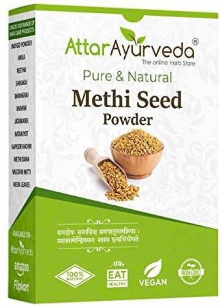 Attar Ayurveda Methi Seed Powder For Hair Growth - 250 g | Fenugreek Powder