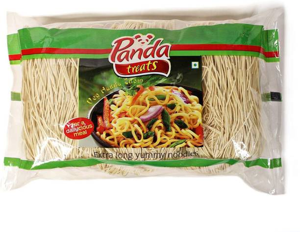 Panda Treats Veg Hakka Noodles 1.2 kg (Pack of 4) Hakka Noodles Vegetarian