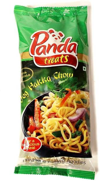 Panda Treats Veg Hakka Noodles with Masala 200g (Pack of 24) Hakka Noodles Vegetarian