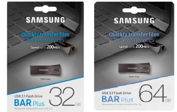 SAMSUNG USB FLASH DRIVE 32GB+64 GB 32 GB Pen Drive