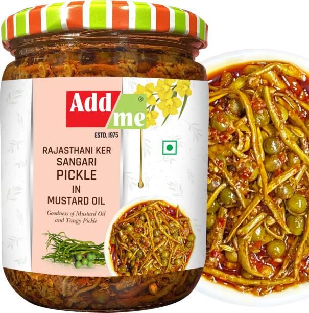 ADD ME Tenti Ker sangri Pickle 500g Glass Pack, A Marwadi Rajasthani Delicacy Pickles Tenti Pickle