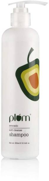 Plum Avocado Soft Cleanse Shampoo | For Frizz-Free Hair | Contains Argan Oil, Shea Butter & Vitamin B5 | Repairs Damage & Smoothens Hair | Free From Sulphate & Silicone