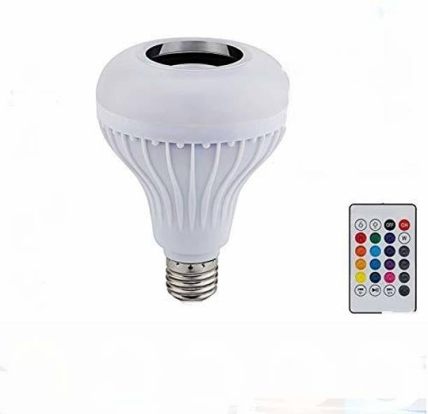 IMMUTABLE 63 _ RT- 3in1 Bluetooth Speaker,Led Bulb & Music Light|Multipl B22 LED White + RGB Light Ball Bulb Colorful Lamp with Remote Control for Home, Bedroom, Party Decoration and All. 20 W Bluetooth Speaker