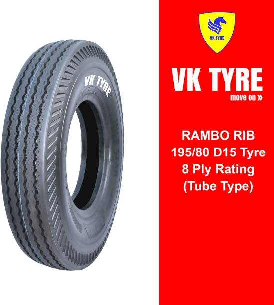 VK TYRE RAMBO RIB 195/80 D15 4 Wheeler Tyre