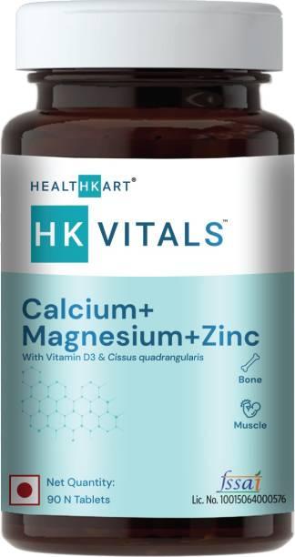 HEALTHKART Calcium with Mag Zinc & Vit D3