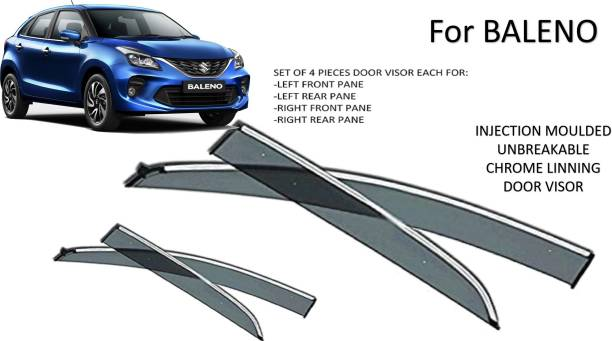 RAAS COLLECTION For Non-convertibles Front, Rear Wind Deflector