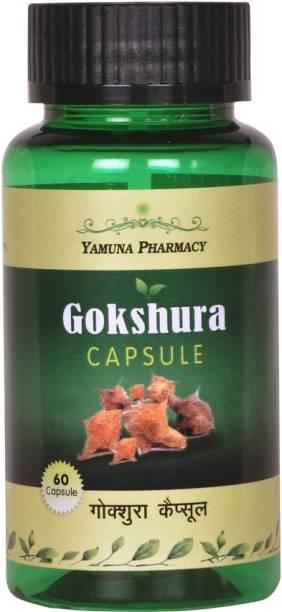 Yamuna pharmacy GOKSHURA (TRIBULUS) CAPSULES 500 MG PURE EXTRACT BASED CAPSULES | 60 N