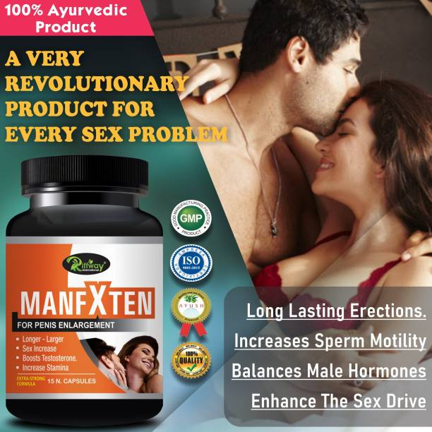 Riffway ManFXten Sexual Capsules For Increases Size, Stronger & harder penis Long Lasting Erection 100% Ayurvedic