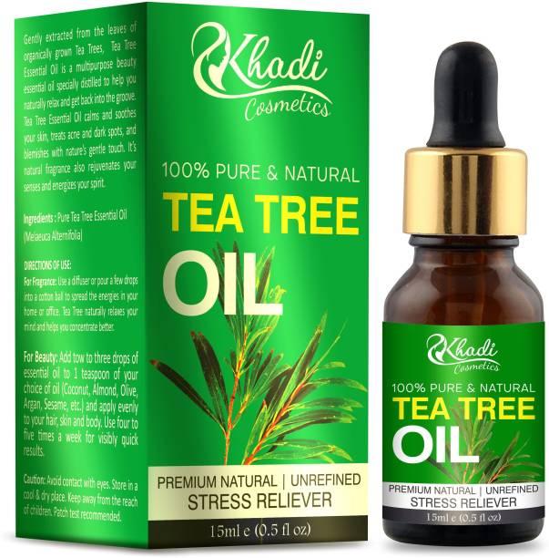 Khadi Cosmetics Tea-Tree Essential Oil
