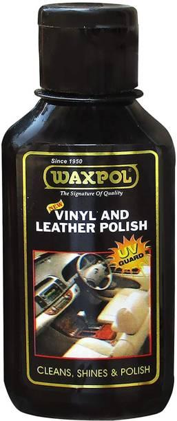waxpol Liquid Car Polish for Leather, Dashboard