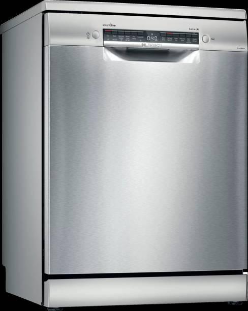 BOSCH SMS6HVI01I Free Standing 14 Place Settings Dishwasher