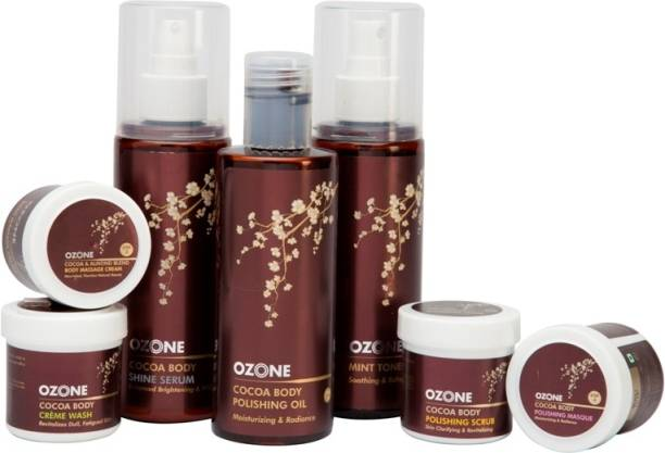 OZONE Intenso Hydrate Cocoa Body Polishing Treatment Kit