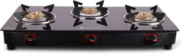 Singer Maxiflare 3 GS Glass Manual Gas Stove