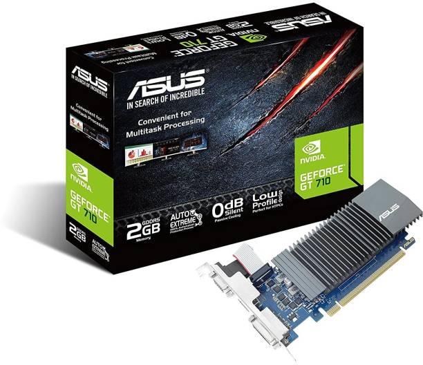 ASUS NVIDIA GeForce 710-2-SL GT 710 PCI-Express Graphics Card 2 GB GDDR5 Graphics Card