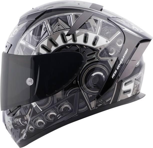 Steelbird SA-2 Terminator 2.0 Aerodynamic Full Face Helmet Motorbike Helmet