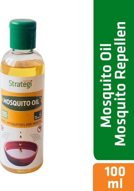 HERBAL STRATEGI Strategi Herbal Mosquito Repellent Oil - 100 ml