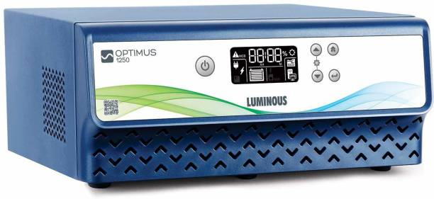 LUMINOUS Pure Sine Wave Inverter for Home, Office, and Shops with Advanced LCD Display Optimus 1250 Pure Sine Wave Inverter Pure Sine Wave Inverter