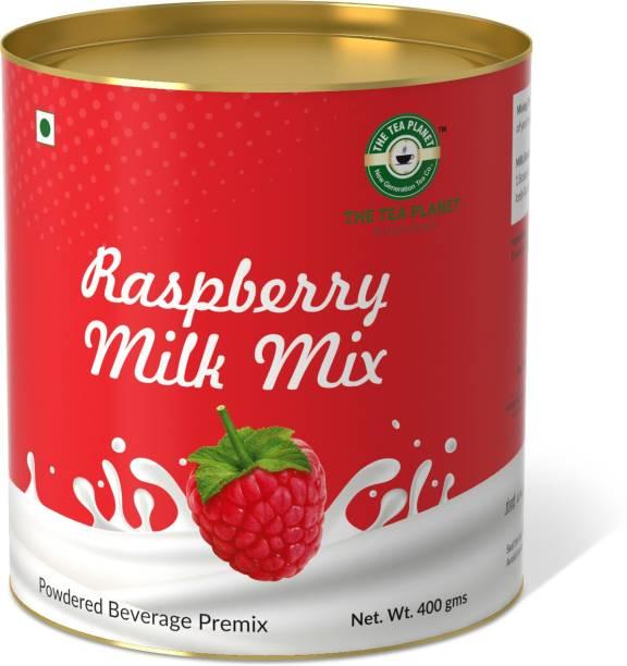 The Tea Planet Raspberry Flavor Milk Mix(400)
