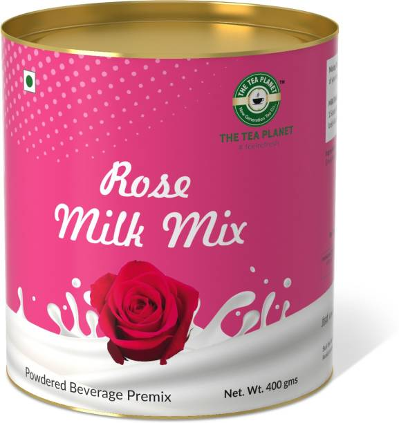 The Tea Planet Rose Flavor Milk Mix(400)