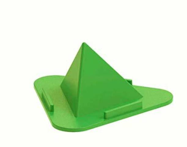 JK Paradise Triangle Shape Pyramid Style 3 Sides Mobile Holder Stand for All Smartphone Mobile Holder