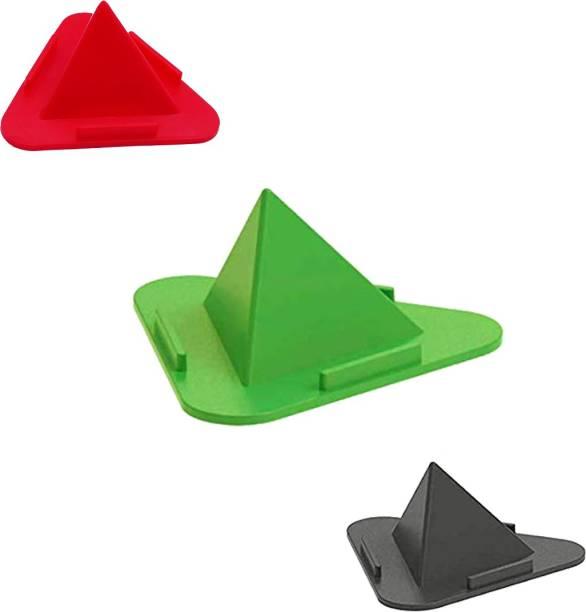 JK Paradise Pyramid Mobile Stand Multi Angle Table Mobile Holder Pyramid Style 3 Sides Mobile Holder Stand Mobile Holder