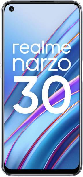 realme Narzo 30 (Racing Silver, 64 GB)