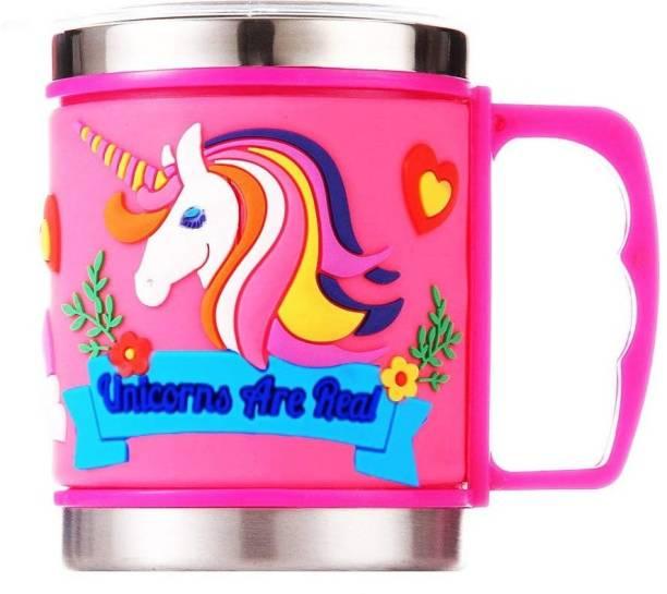 Mistazzo Unicorn for Girls Kids Stainless Steel Coffee Mug
