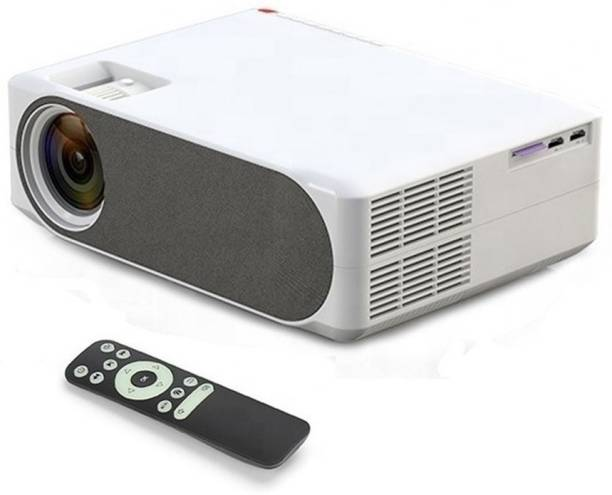 VIVICINE AUN AKEY6 Projector for home 4k 6800 Lumens Home Theater 1080P Basic Version USB*2, HDMI, VGA, AV, SD Card LED Full HD Projector 6800 lm LED Corded Portable Projector