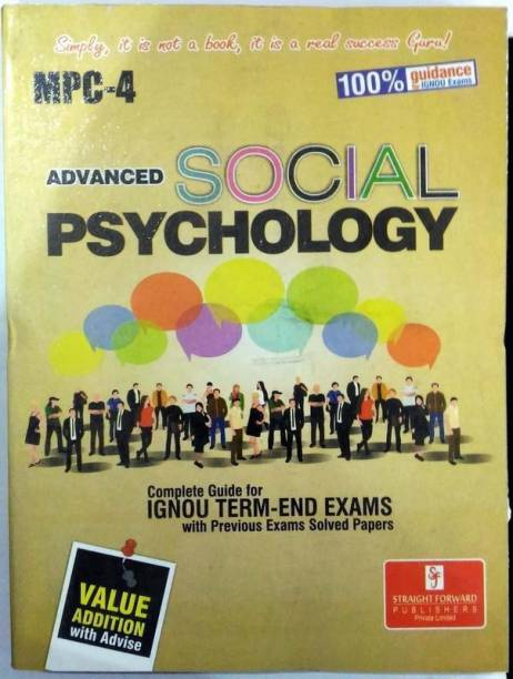 MPC 4 Advanced Social Psychology (Including Previous Year Solved Question Papers)