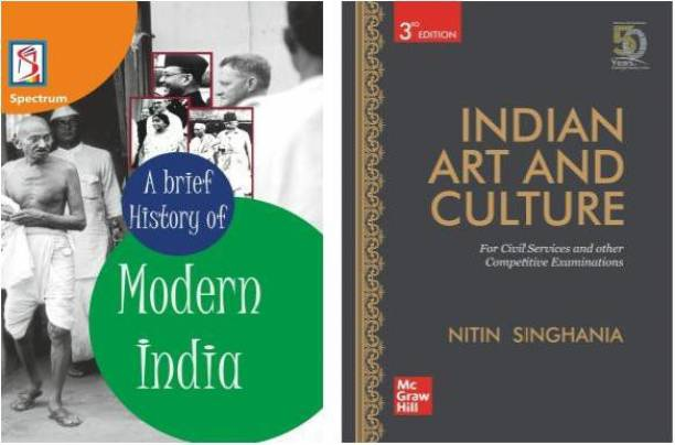 A Brief History Of Modern India (Spectrum), Indian Art And Culture