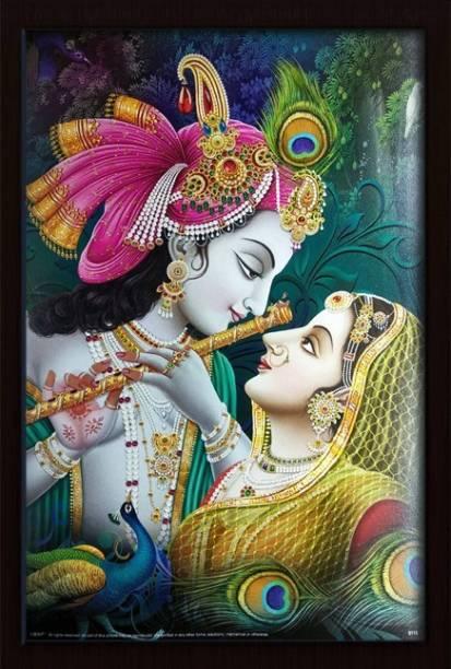 Darsh Craft Radha Krishna Religious Frame